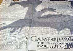 GoT -newspaper ad