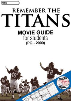 remember the titans conflict essay Remember the titans - persuasive essay remember the titans essay the movie 'remember the titans' is claimed to be an with the resultant conflict between two.