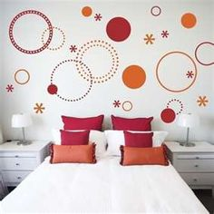 all things polka dots would be cute with a different bed spread