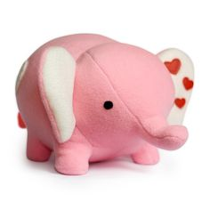 Who can resist a cute pink elephant?