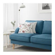 STOCKSUND Canapé 2 places - Ljungen bleu, brun clair - IKEA