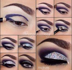 Creative eyeshadow