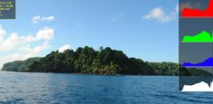 Approaching beautiful Caño Island bioreserve for a snorkeling tour #CostaRica #ecotourism