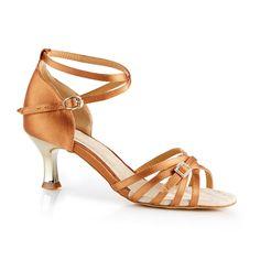 Smuk og fin dansesko fra NDS - Nordic Dance Shoes. Denne model NDS2006 Fashion er udført i bronze satin og guld-metallic hæl. En meget blød og komfortabel dansesko med rigtig godt fit. En meget populær model. Forhandles hos Nordic Dance Shoes: http://www.nordicdanceshoes.dk/nordic-dance-shoes-nds2006-bronze-satin-dansesko#utm_source=pin