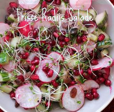 Frisse Radijs Granaatappel Salade