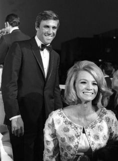 Burt Bacharach and Angie Dickinson....She married Burt Bacharach in 1965. They remained a married couple for 15 years, though late in their marriage, they had a period of separation where each dated other people.