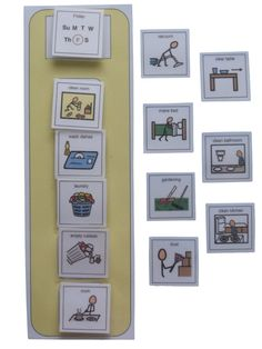 Amazon.com: Autism Supplies And Developments PECS Pictorial Chores List: Office Products