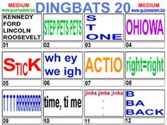 Dingbats Rebus Puzzles, Word Puzzles, Christmas Picture Quiz, Picture Puzzles Brain Teasers, Lateral Thinking Puzzles, Brain Games, Mind Games, Thinking Skills, Riddles