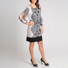 R & M Richards Women's Paisley Printed Dress $70.39 overstock.com
