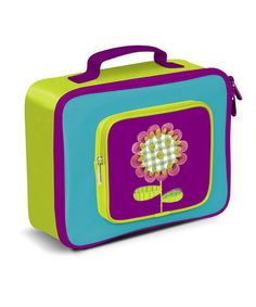 Take a look at this Button Flower Lunch Box by Crocodile Creek on #zulily today!