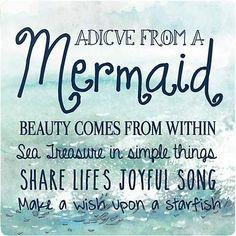 Mermaid Advice Mermaid Fairy, Mermaid Room, Mermaid Board, Mermaid Sign, Mermaid Tale, Mermaid Princess, Baby Mermaid, Ocean Quotes, Beach Quotes