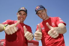 TOYOTA HILUX BATTLES THROUGH TO SECOND ON DAKAR 2013 RALLY