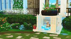 Sims 4 CC's - The Best: PETS BED PACK 1 by Coupure Èlectrique