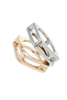 Hollow Stack Ring