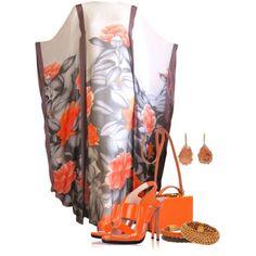 Hanae Mori Kimono Style Evening Dress - Contest