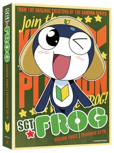 Sgt. Frog DVD Season 3 Collection (Hyb) #RightStuf2014