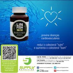 O Lin Fish 18/12 é um mix de óleo de linhaça e óleo de peixe. Possui os três tipos de ômega 3 encontrados na natureza: DHA, EPA e ALA. Indicado para pessoas que necessitam manter o equilíbrio na ingestão de ômega 3, para a manutenção de uma vida saudável e, graças à ação anti-inflamatória, para auxiliar no tratamento do Lúpus, doença autoimune que pode afetar qualquer parte do corpo.