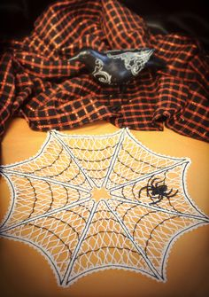 Tutorials   Urban Threads: Unique and Awesome Embroidery Designs Halloween Crochet Patterns, Halloween Embroidery, Halloween Bags, Halloween Design, Cotton Crochet, Thread Crochet, Applique Designs, Machine Embroidery Designs, Embroidery Ideas