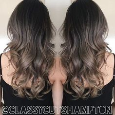 """""""Gorgeous repost of Deanna's seamless smokey ash blonde! Stunning ️thank you @olaplex @olaplexau for taking great care of her hair! styled using…"""""""