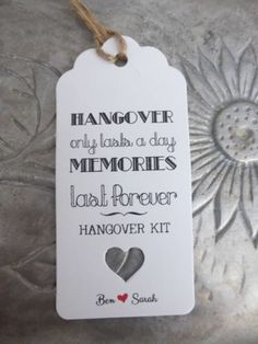 Personalised-HANGOVER-KIT-Gift-Tag-Wedding-ALCOHOL-Favour-Bottle-Guest-Label