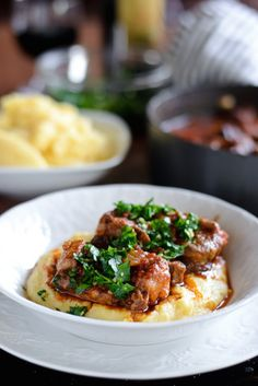 Italian Holiday Table: Oxtail Osso Bucco and Dark Chocolate Olive Oil Trifles
