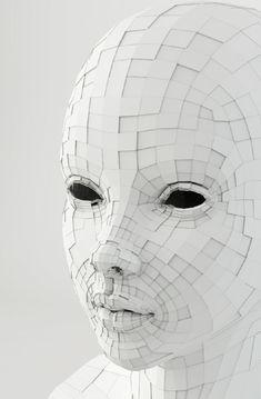 mask....make into Buddha