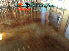 Stained Concrete New Construction by Texoma Concrete Effects, Wichita Falls, TX