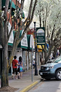 Historic Downtown Branson Missouri - this, in my opinion, is one of the best part of Branson. Let us help you with your Vacations plans! Call us 417-616-3988 or 417-598-1375 or visit http://www.ultimatevacationsllc.com/packages.html