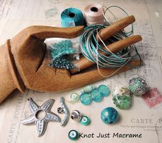 Micro Macrame Wrap Bracelet Class and Kit Giveaway!