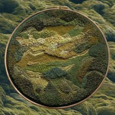 Embroidery Art of Nature by Litli Ulfur
