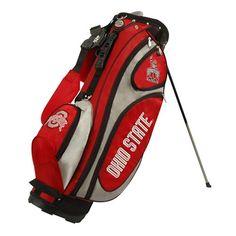 Ohio State Buckeyes NCAA GridIron Stand Bag Golf Cart Bag Embroidered School Logos