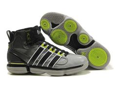 the best attitude 7ab05 7c74a Mens Adidas TS Beast Commander White Black Green Basketball Shoes Size 12