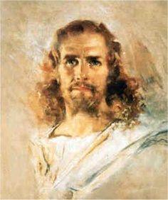 howard chandler christy print of Jesus | PicturesofJesus4You.com - Head of Christ by Howard Chandler Christy
