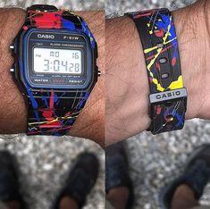 Sport Watches, Cool Watches, Watches For Men, Watch 24, Nato Strap, Casio G Shock, Black Dark, Wristwatches, Digital Watch
