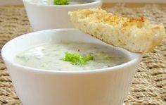 Sopa de brócolos e batata