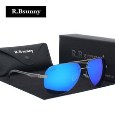 6df360f4424 Luxury Aluminum Magnesium Polarized Sunglasses Men brand Design Driving  mirror Sun Glasses hot rays brands women