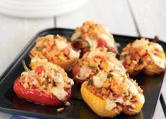 Easy Stuffed Peppers Recipe: Veggie Magazine