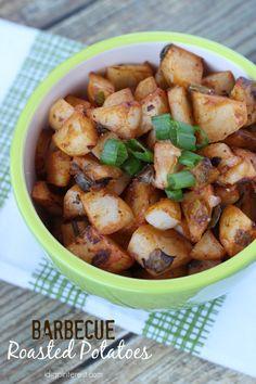 Barbecue Roasted Potatoes on MyRecipeMagic.com