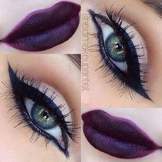 || Eyes || MAC studio finish NC20 as base, @Marlena Stell 'creme brûlée' & 'cocoa bear' in crease, MAC 'brule' on lid, INGLOT AMC gel liner 77, MAC 'feline' eyeliner, @Marlena Stell 'corrupt', @House of Lashes 'noir fairy' || Lips || MAC 'night moth' lip pencil all over lips. #heidimakeupartist - @heidimakeupartist- #webstagram