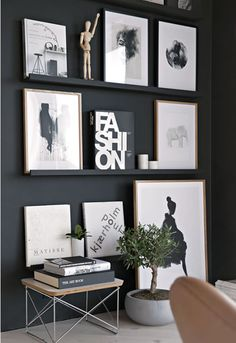 How to use black in your homes.