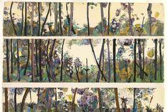 Australian Painting, Australian Artists, Landscape Art, Landscape Paintings, Landscapes, Fred Williams, Figurative Art, Painting Inspiration, Art Forms