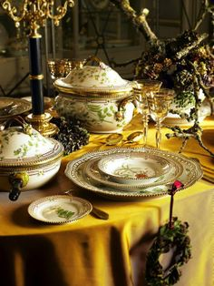 /\ /\ . Royal Copenhagen Porcelain