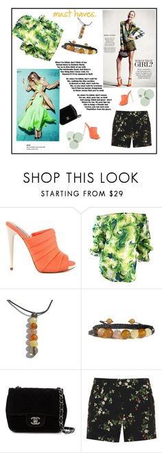 """""""Spring"""" by zenstore ❤ liked on Polyvore featuring Steve Madden, Chanel and Topshop Unique"""