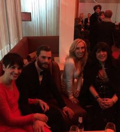 Red Carpet Premiere in Berlin, Backstage Jamie his wife, Director and Writer , Fifty Shades Of Grey  2/11/2015