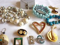 Jewelry Lot Destash Repair Lot Vintage to Modern 33 Pcs