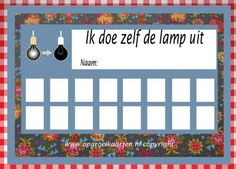Lamp uit