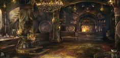 The Lusty Mermaid Interior by Lastsiren