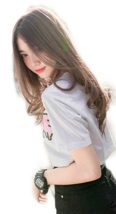 Latest Asian Woman Long Hairstyle Trends for Winter – Trendy Fashion Ideas Ulzzang Korean Girl, Cute Korean Girl, Cute Asian Girls, Beautiful Asian Girls, Cute Girls, Pretty Asian, Asian Cute, Emo Girls, Japanese Model