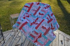 Baby Quilt - free pattern at Fat Quarter Shop - Jelly Roll Jam II