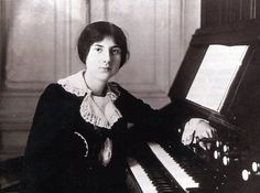 Lili Boulanger (1893-1918), French>  Boulanger's talent was evident at the age of two, when Gabriel Fauré discovered she had perfect pitch. Her parents encouraged her musical education. At the age of 19 she won the Prix de Rome composition prize for her 'Faust et Hélène', becoming the first woman composer to win the prize. She died tragically young. The asteroid 1181 Lilith was named in her honour.